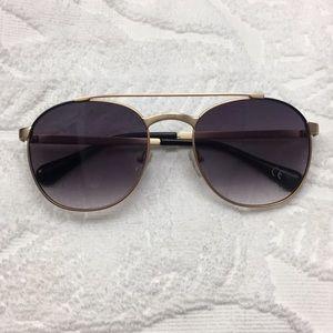 DVF Aviator Sunglasses
